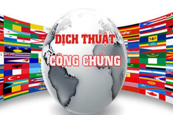 Công ty dịch thuật công chứng tại Cà Mau